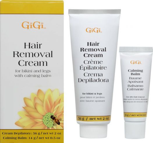 Gigi Hair Removal Cream For Legs Bikini 2 Oz